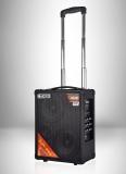 (Все в одном) Мобильный звукоусилительный комплект с радиосистемами и аккумулятором