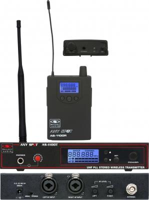 Радиосистема ушного мониторинга AS-1100-4