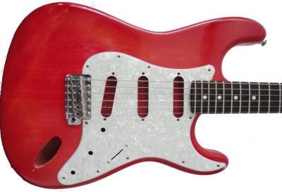 Покраска гитарной деки