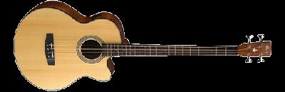 Cort : Акустическая бас-гитара SJB5F NS