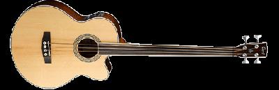 Cort : Акустическая бас-гитара SJB6FX FL NAT - БЕЗЛАДОВАЯ