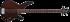Cort : Бас гитара Arona 4 OPBR
