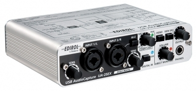 UA-25EX USB midiаудио интерфейс