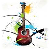 Гитарный тюнинг :  рисунки на деке