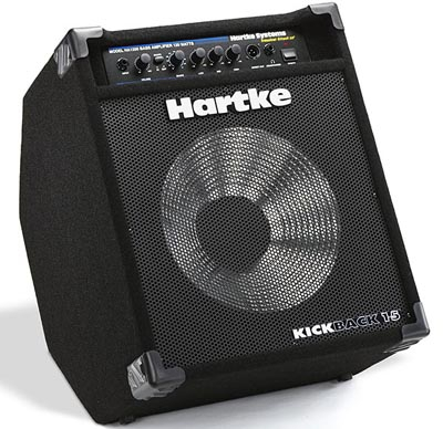 Hartke : Басовый комбоусилитель KICKBACK 15