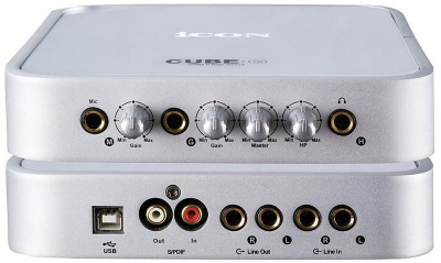 USB Аудиоинтерфейс Cube G