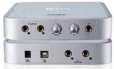 USB Аудиоинтерфейс Cube