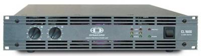 Концертный усилитель мощности Dynacord : CL 1600