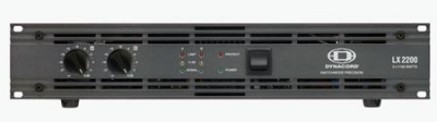 Концертный усилитель мощности Dynacord : LX 2200