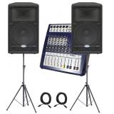 Samson Dreamsound : Звукоусилительный комплект 500 ватт (250 на канал)