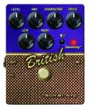 Tech 21 : Гитарная педаль BRITISH дистошн