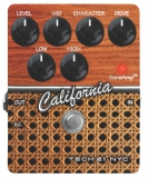 Tech 21 : Гитарная педаль CALIFORNIA дистошн