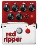Tech 21 : гитарная педаль RED RIPPER дистошн/фуз для бас-гитары
