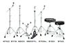 Ударные инструменты и аксессуары DW : Подставка под рабочий барабан - 5300