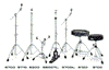 Ударные инструменты и аксессуары DW : Стойка под тарелку 5710